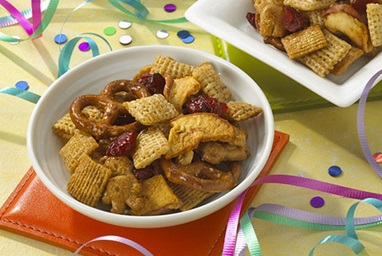 Honey-Maple Trail Mix