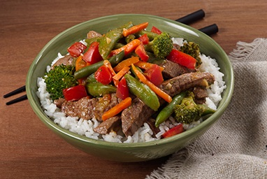 Broccoli and Beef Stir-Fry