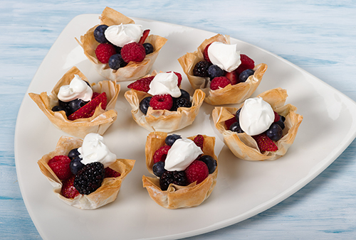 Dessert Cups With Fresh Fruit