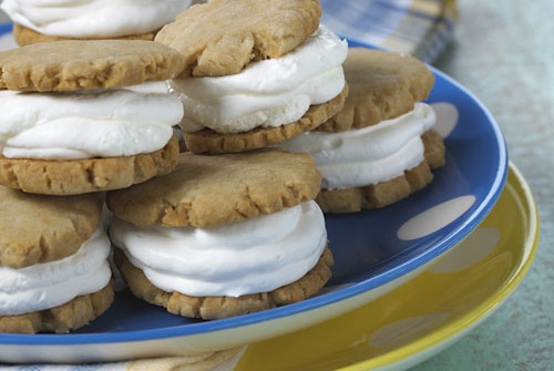 Frozen Sugar Cookie Sandwiches