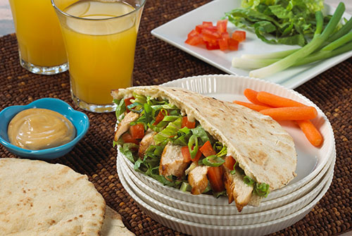 Chicken Teriyaki Pita Sandwich Davita