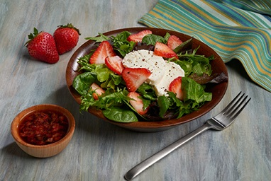 Strawberry and Goat Cheese Spring Salad