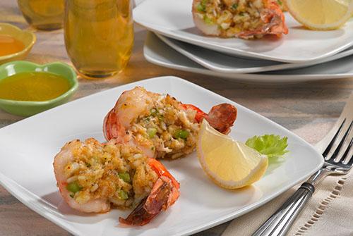 Crab Stuffed Shrimp Davita
