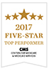 CMS Five-Star Quality Rating seal.