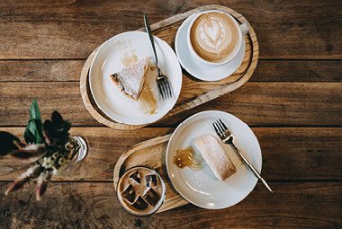 kidney friendly coffee and dessert options