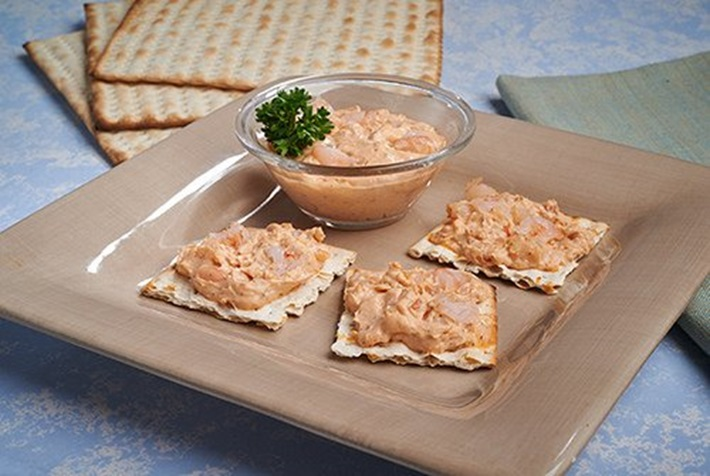 Shrimp Spread with Crackers
