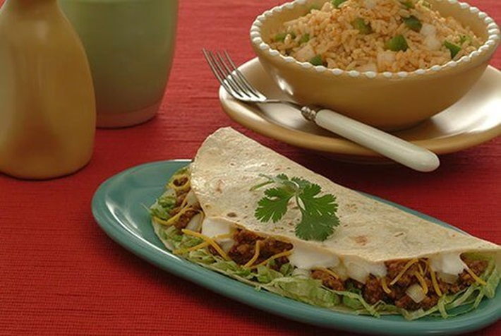 Soft Tacos with Mexican Seasoning