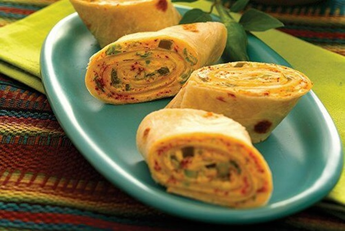 Tortilla Beef Roll ups High Protein