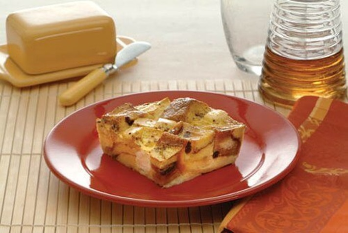 Apple Cinnamon French Toast Strata