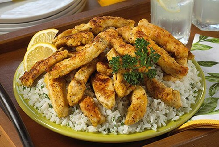Easy Crispy Lemon Chicken
