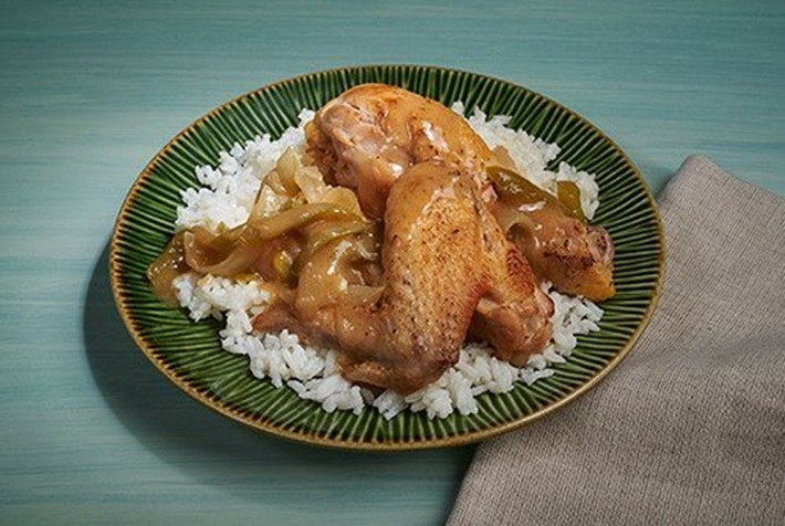 Louisiana Style Stewed Chicken and Rice