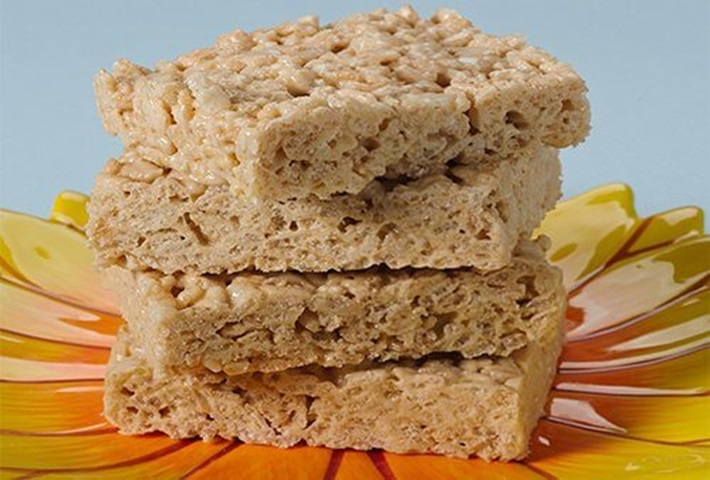 High Protein Rice Crispy Treats
