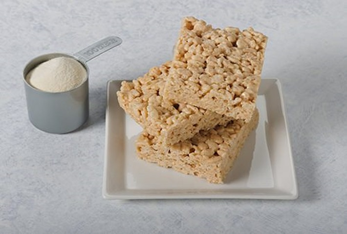 Microwave High Protein Rice Crispy Treats