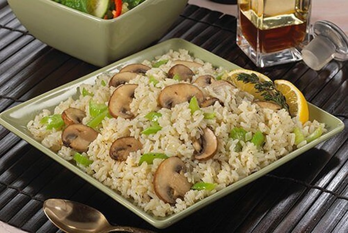Elegant and Easy Lemon Rice with Vegetables