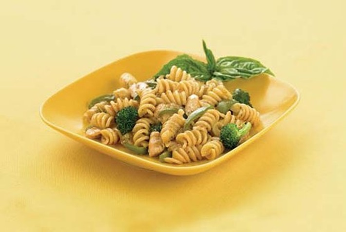 Italian Style Vegetables Pasta with Chicken