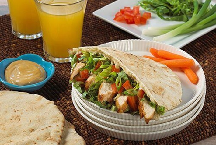 Chicken Teriyaki Pita Sandiwch