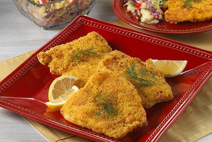 Crunchy Oven-Fried Catfish