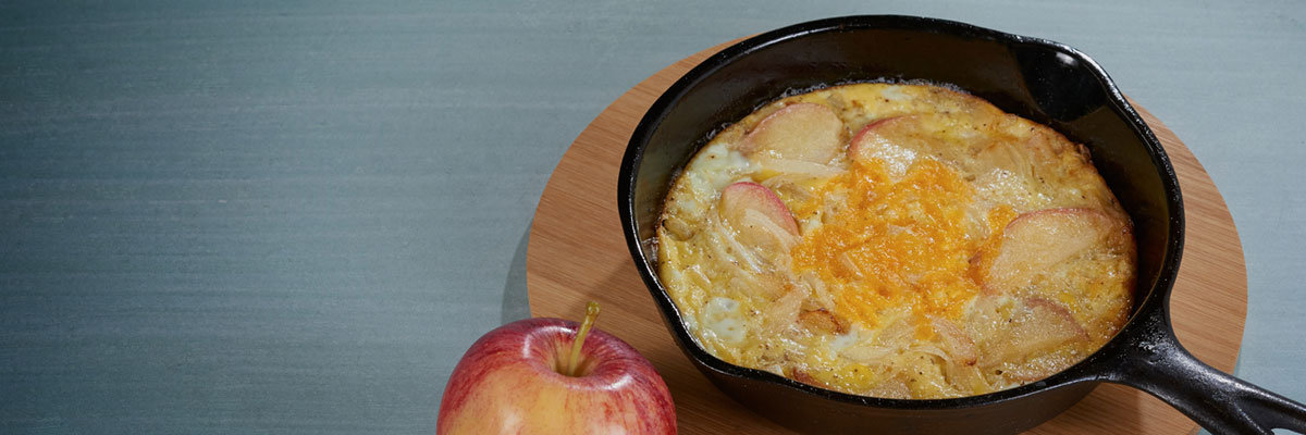 Apple Onion Omelet