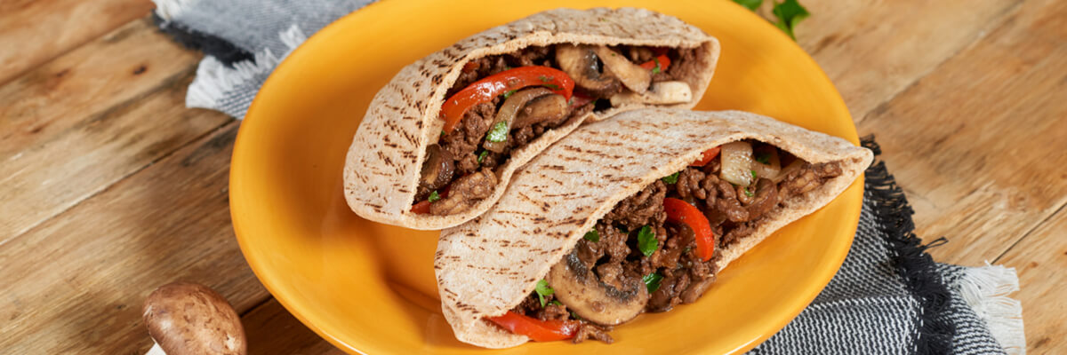 Beefy Pita Pockets