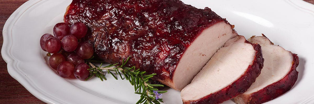 Cranberry Glazed Pork Roast
