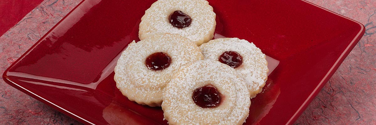 Cream Cheese Thumbprint Cookies