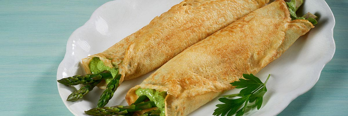 Crepes Asparagus