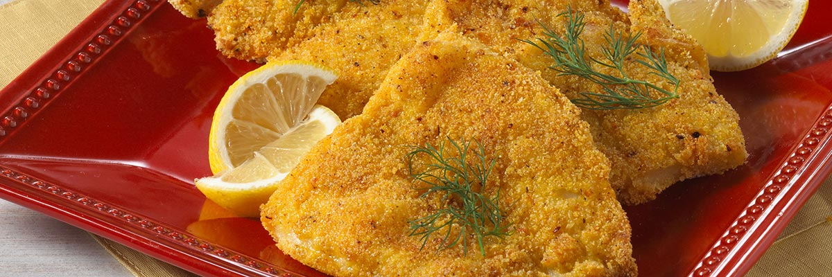Crunchy Oven Fried Catfish