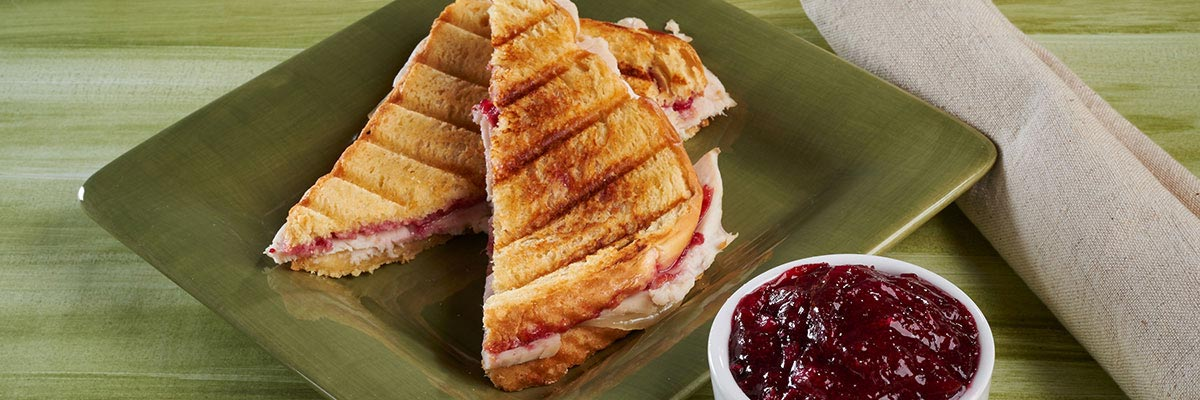Day After Thanksgiving Turkey Panini