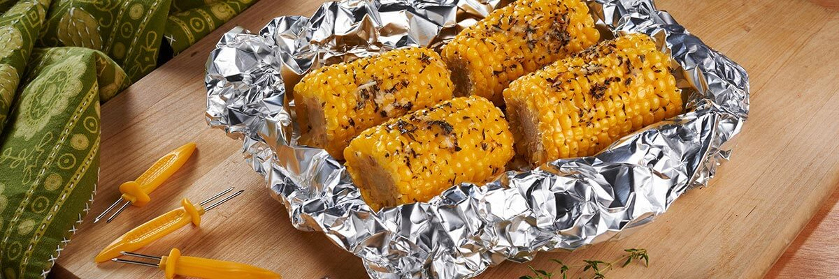 Grill Thyme Corn on The Cob