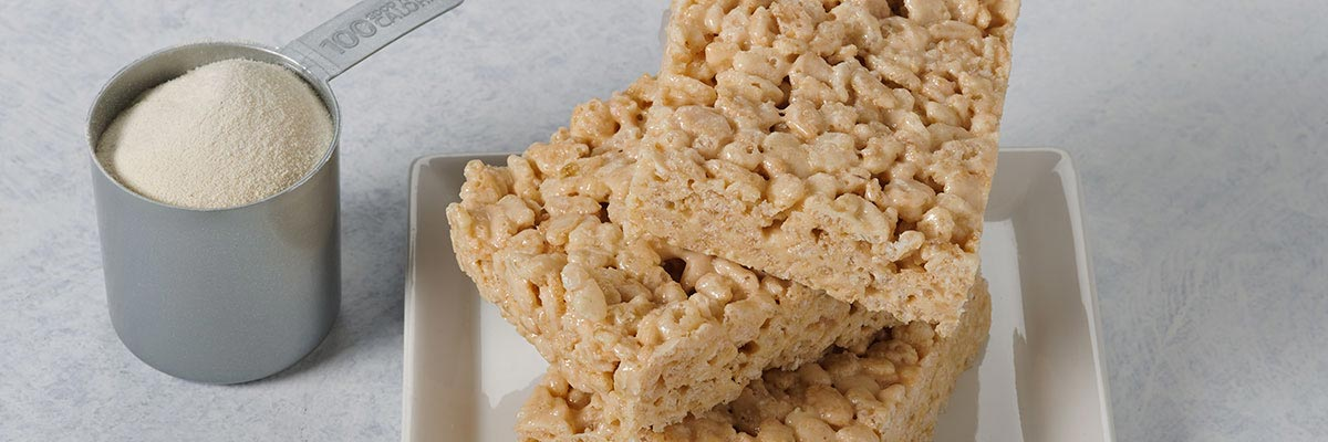 High Protein Rice Krispy Treats