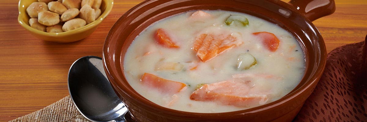 Old Fashioned Salmon Soup