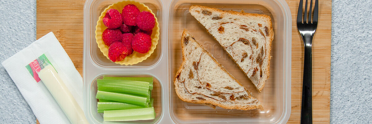 Peanut Butter Sandwich Lunch Box