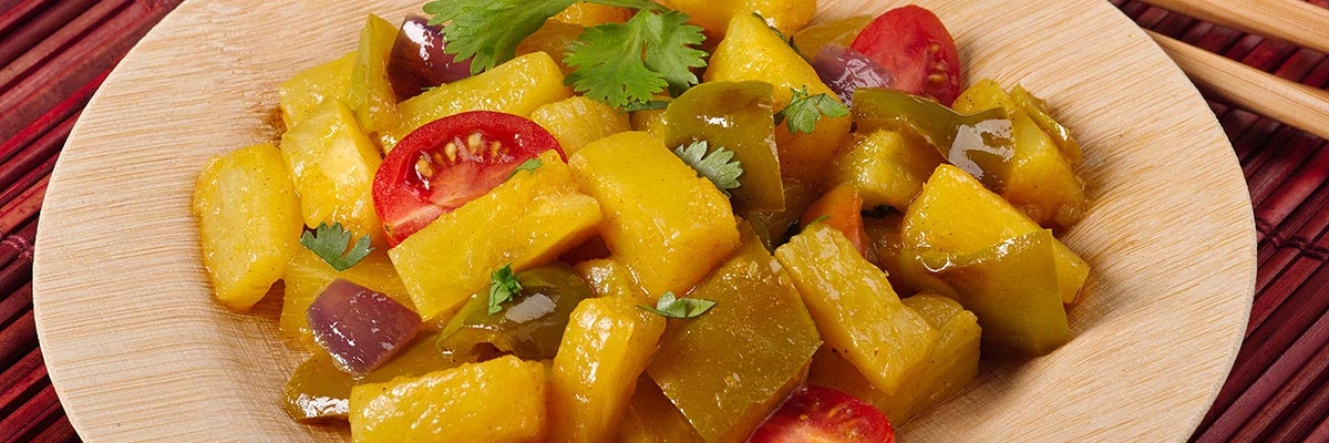 Pineapple Pepper Curry