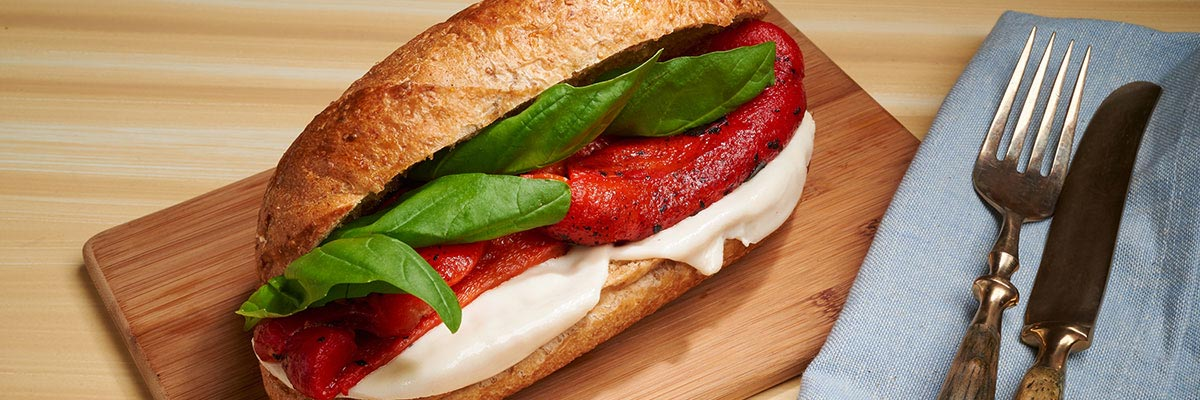 Roasted Red Pepper Sandwich