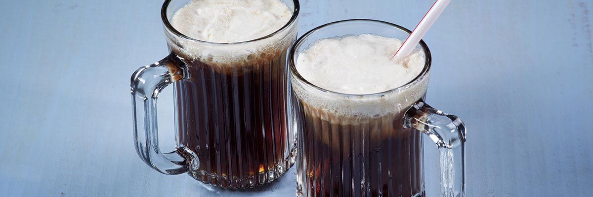 Root Beer High Protein Float