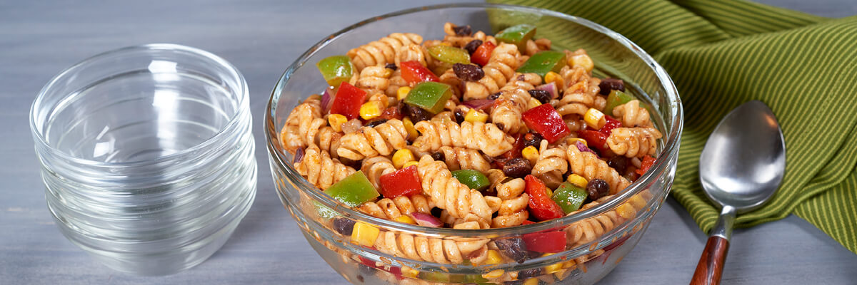 Southwest Holiday Pasta Salad