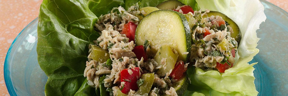 Tuna Veggie Salad