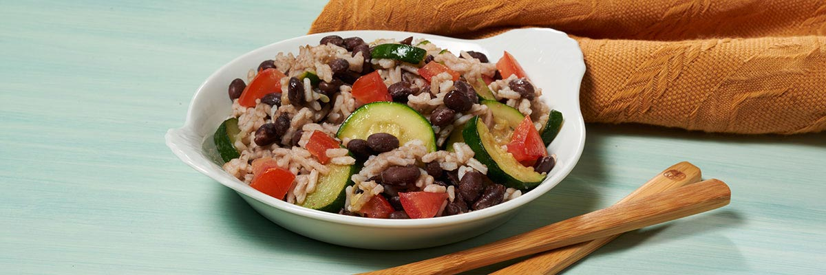 Zucchini Black Bean Supper